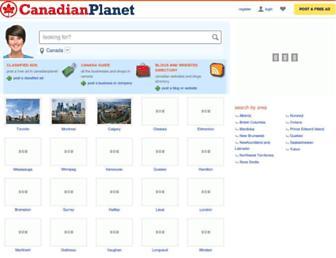 canadianplanet.net screenshot