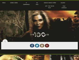 the100hd.com.br screenshot