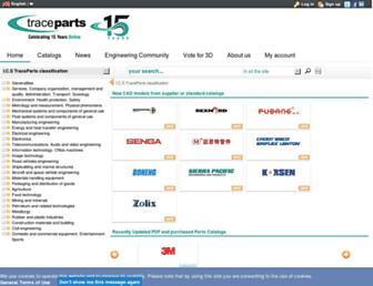 Thumbshot of Tracepartsonline.net