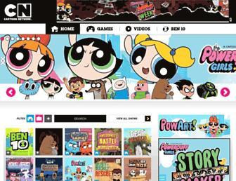 cartoonnetworkme.com screenshot