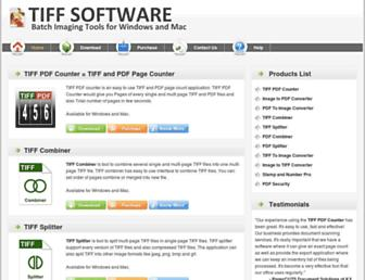 tiffsoftware.com screenshot