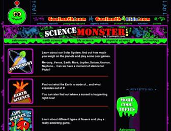 Thumbshot of Sciencemonster.com