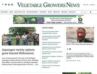 vegetablegrowersnews.com screenshot