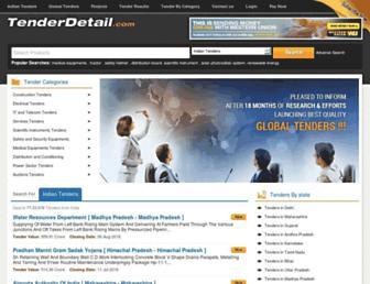 Thumbshot of Tenderdetail.com