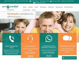 imedialsaude.com.br screenshot
