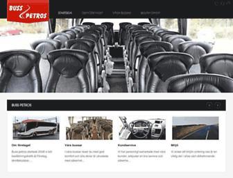 busspetros.se screenshot