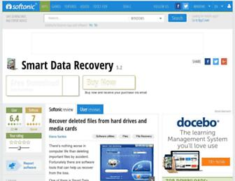 smart-data-recovery.en.softonic.com screenshot
