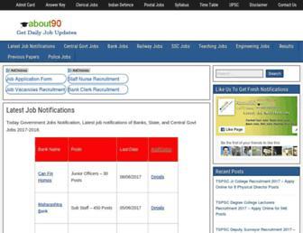 about90.com screenshot