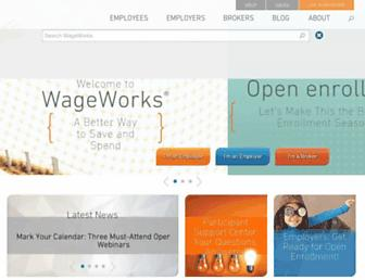 Thumbshot of Wageworks.com