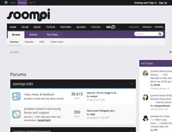 forums.soompi.com screenshot