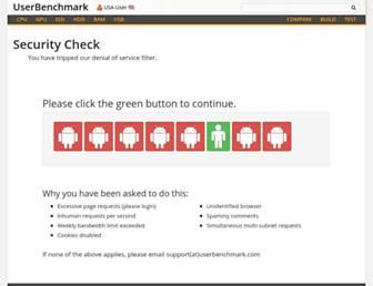 gpu.userbenchmark.com screenshot