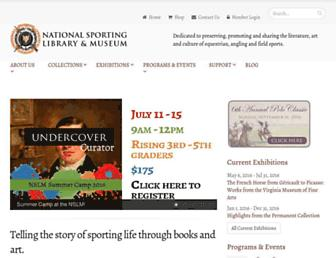 Main page screenshot of nsl.org