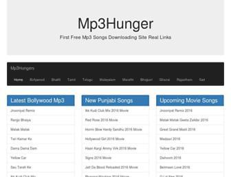 mp3hungers.com screenshot