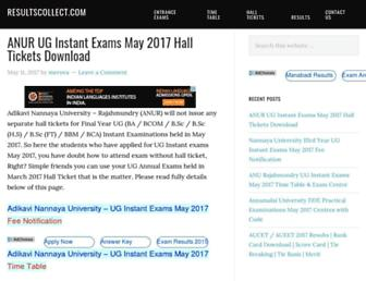 resultscollect.com screenshot