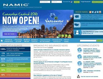 namic.org screenshot