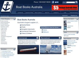 boatbooks-aust.com.au screenshot