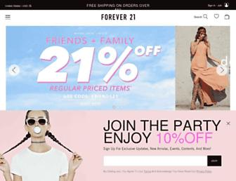 Thumbshot of Forever21.com