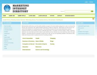 Thumbshot of Marketinginternetdirectory.com