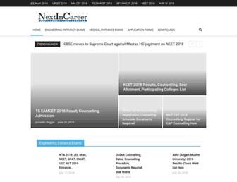 nextincareer.com screenshot