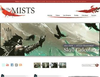 Thumbshot of Intothemists.com