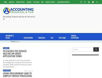 accounting-financial-tax.com screenshot