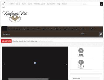 kuaforum.net screenshot
