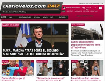 Thumbshot of Diarioveloz.com