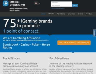 Thumbshot of Gambling-affiliation.com