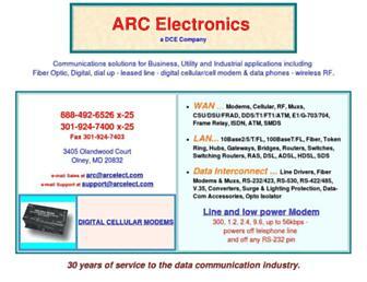 arcelect.com screenshot