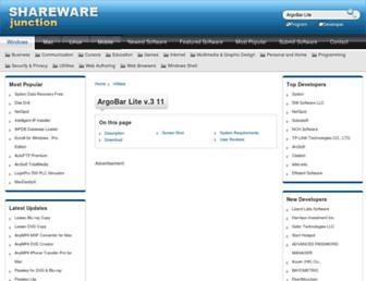 argobar-lite.sharewarejunction.com screenshot