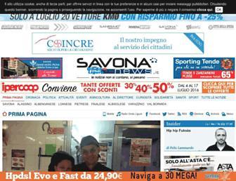 savonanews.it screenshot