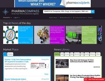 pharmacompass.com screenshot