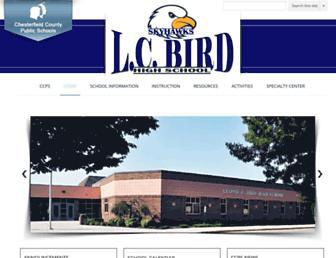bird.mychesterfieldschools.com screenshot