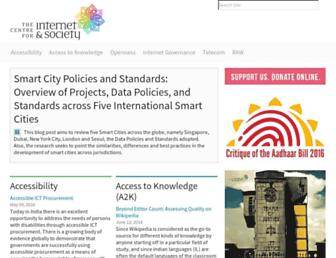 cis-india.org screenshot