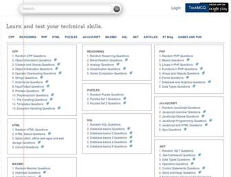techmcq.com screenshot