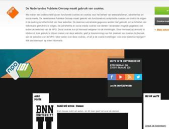 Main page screenshot of 101.tv