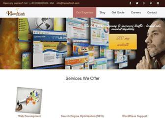 hansoftech.com screenshot