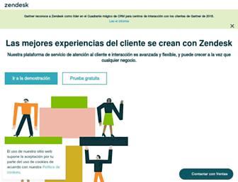 Thumbshot of Zendesk.es