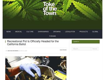 Thumbshot of Tokeofthetown.com
