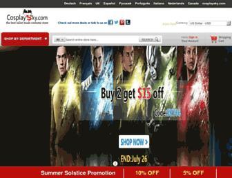 Thumbshot of Cosplaysky.com
