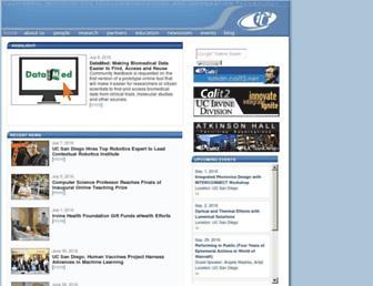 Thumbshot of Calit2.net