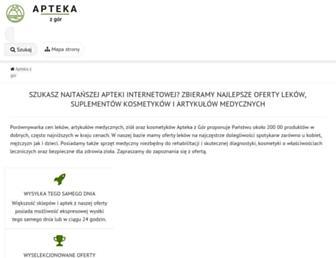 aptekazgor.pl screenshot