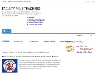 facultyon.com screenshot