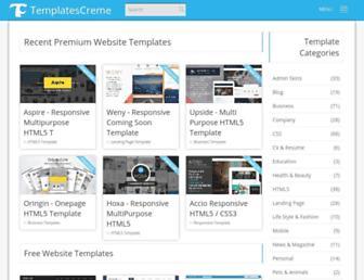 Thumbshot of Templatescreme.com
