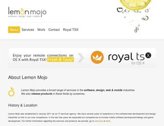 lemonmojo.com screenshot