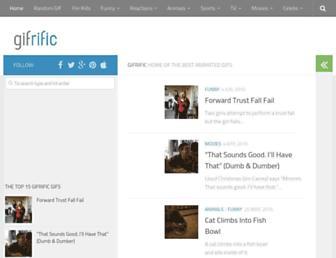 Thumbshot of Gifrific.com