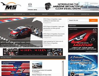 motorsportchannel.com screenshot
