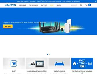 Thumbshot of Linksys.com
