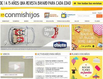 conmishijos.com screenshot
