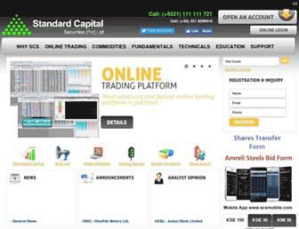 Thumbshot of Scstrade.com